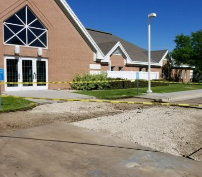 CW Concrete Church Lot